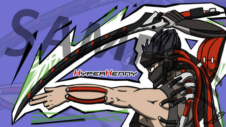 Stylish Blackwatch Genji by FuryX-4