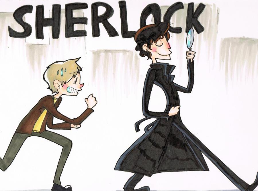 Sherlock by FluffyPie