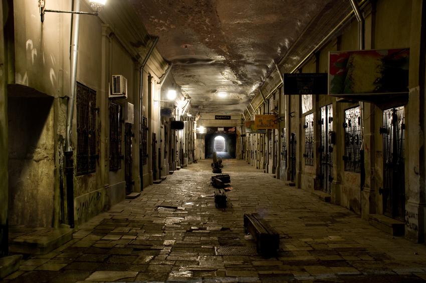 The Underground City by Drombyb