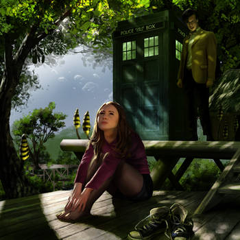 Doctor Who: It's time to leave, Pond!