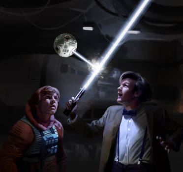 Star Wars - Doctor Who crossover by Drombyb
