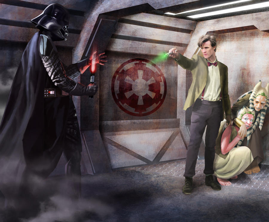 Doctor Who vs Darth Vader