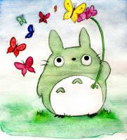 Totoro Fanart by MitsUshI