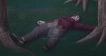 Zeon Lying On His Back by Louderland
