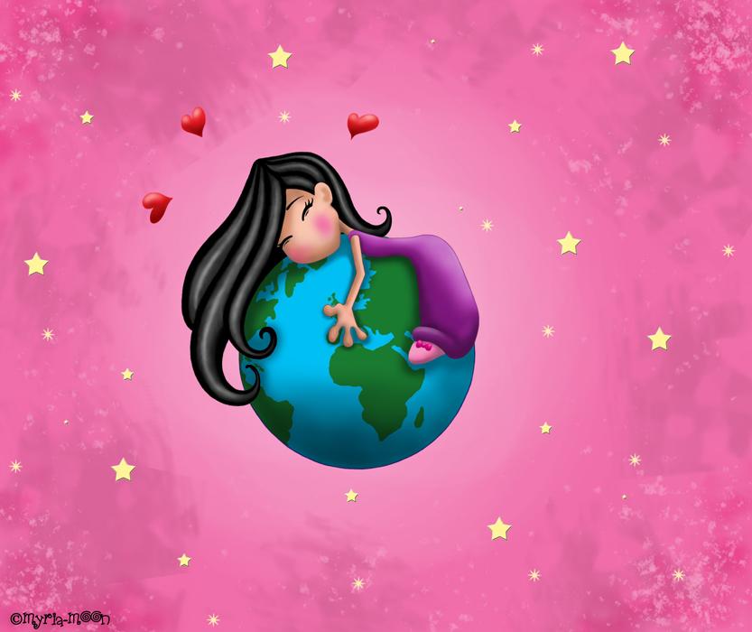 Il est a moi le monde !!! by Myria-Moon by Myria-Moon