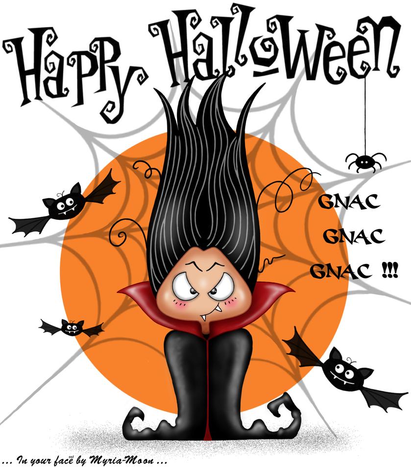 Happy Halloween by Myria-Moon by Myria-Moon