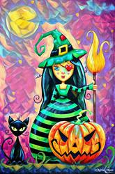 Le Happy Halloween de Colette by Myria-Moon by Myria-Moon