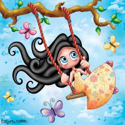 Youpi c'est le printemps !!!  by Myria-Moon by Myria-Moon