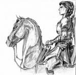 Kassandra on Phobos by horsestar