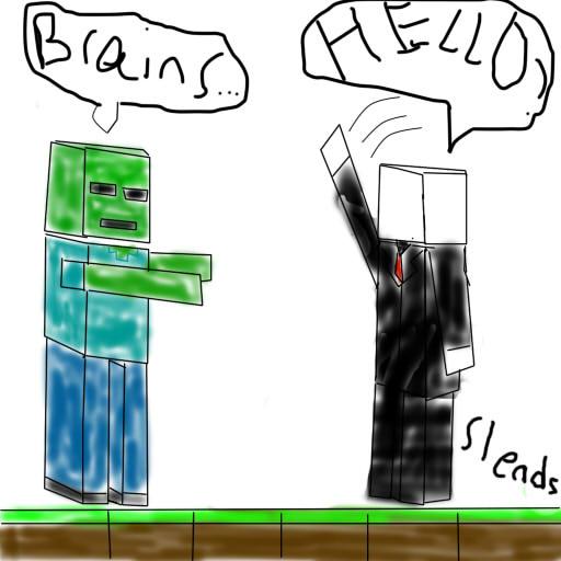 Some minecraft cartoon by mrslends
