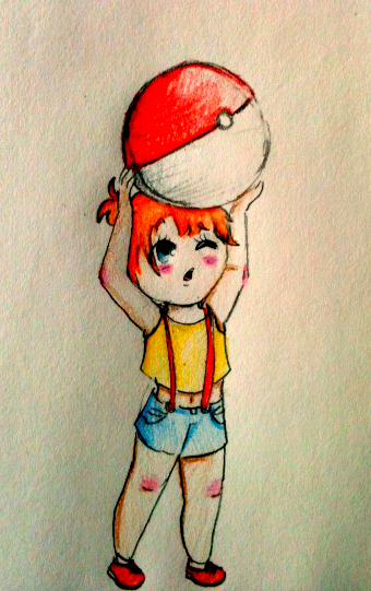 Misty Pokemon Chibi by AddyinWonderland
