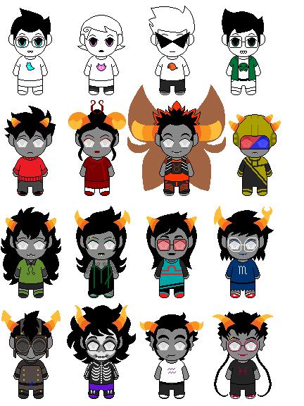 alpha kids and ancestor trolls by manga-kat