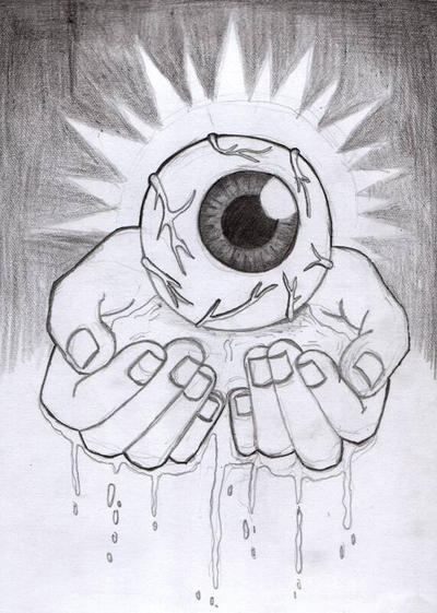Eye Balls on Your Hands