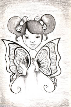 Little Butterfly girl
