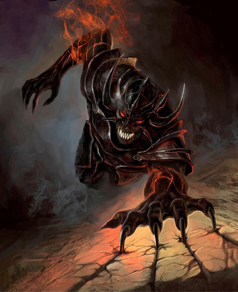 Demon-Warrior by Shaman-2000