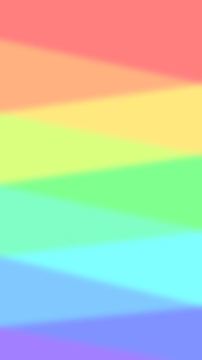 Pastel Rainbow Custom Box By Little Painter