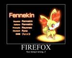 Motivational Poster- New Pokemon Fire Starter