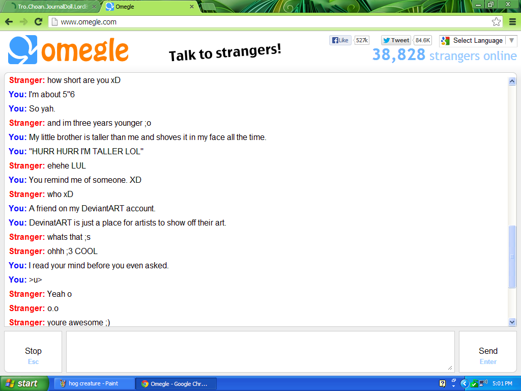 Little Girls On Omegle