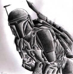 Mandalore Warrior by gondring
