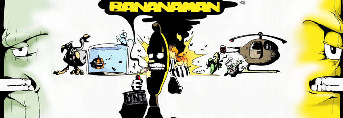 BANANAMAN and the Onion Lair