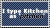 STAMP: pitchen by Graphrite