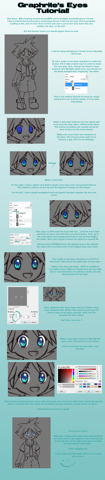 TUTORIAL: Eyes by Graphrite