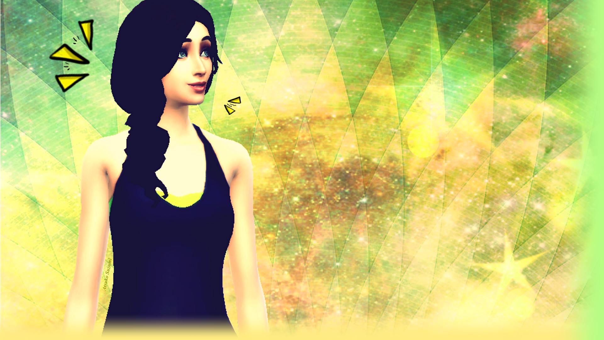 Wallpaper The Sims 4 By Suzumiatsuko On Deviantart