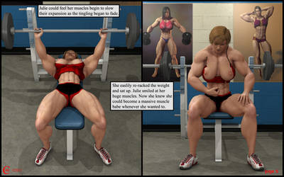 Julie's Workout 06 by cmlcml