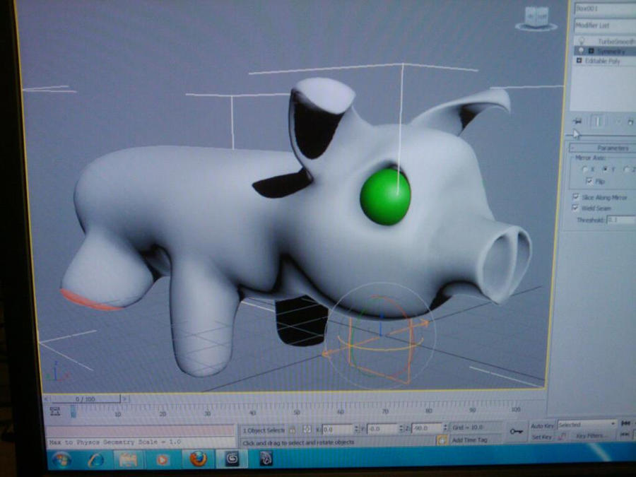 Animated Pig by xlunarmoonx
