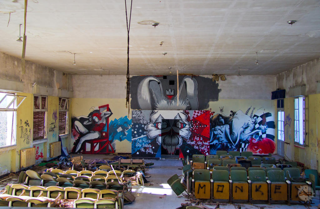 Theater Asylum by adurbex