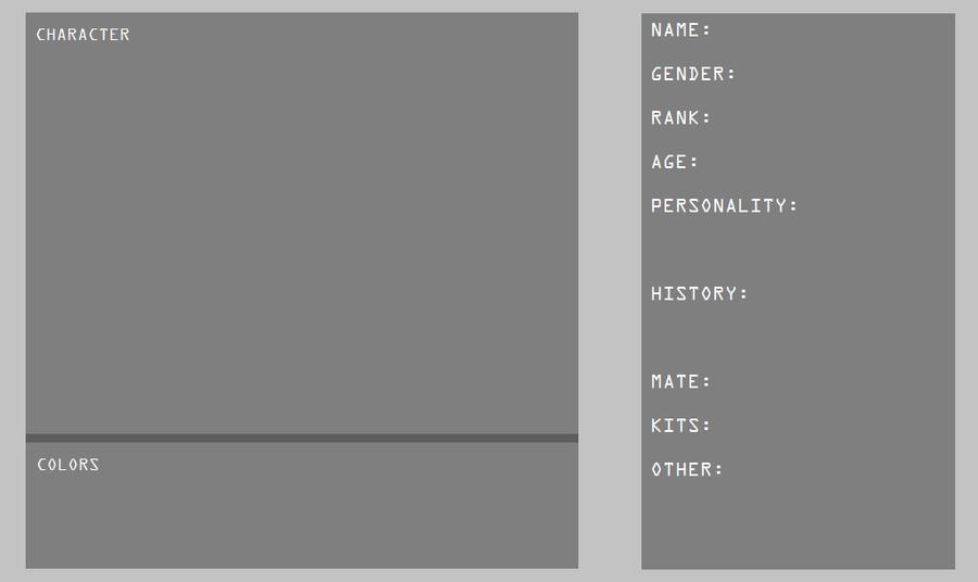 Blank Reference Sheet By Jeiynx ...  Blank Reference Sheet