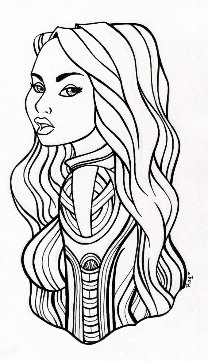 Sexy Anime Witch Coloring Pages Coloring Pages