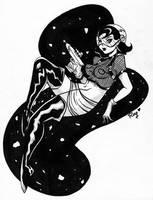 Space cadet by RaquelArtQ