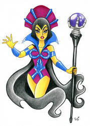 Evil Lyn Colored