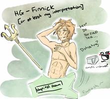 Hunger Games- Finnick by Omnomnom-Monster