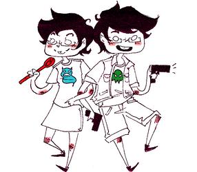 Jane and Jake by Omnomnom-Monster