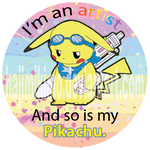 My Pikachu is an Artist. by hajimikimo