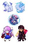 Anime Boston 2013 Commissions by hajimikimo