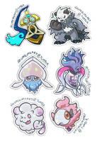 Gen 6 Stickers 3 by hajimikimo