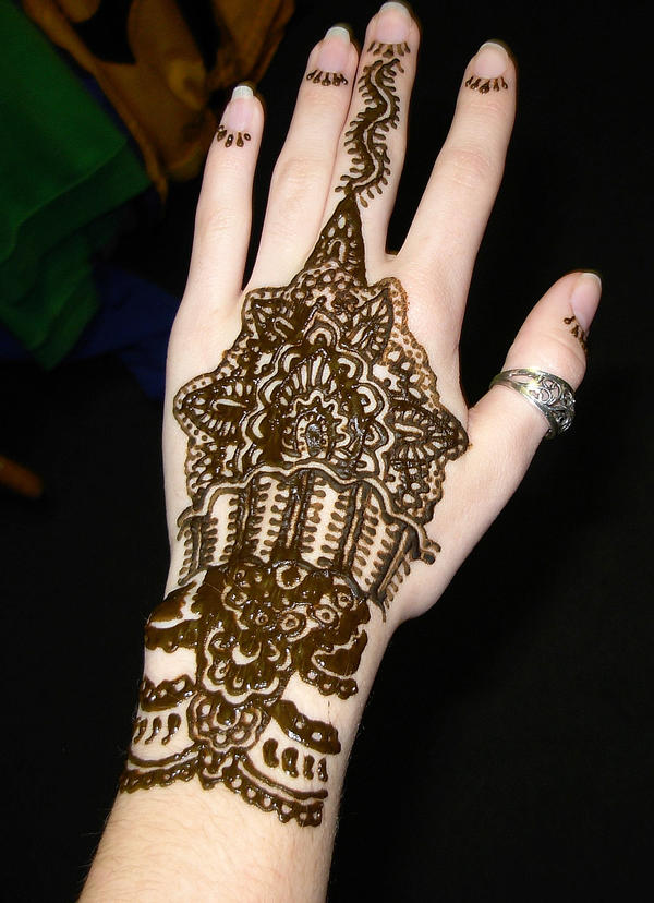 Henna Designs For Hands Picture 1