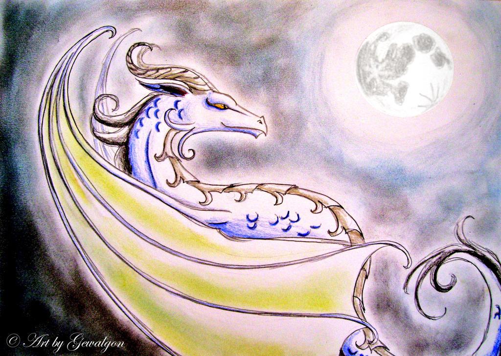 Moondragon Dance by Gewalgon