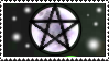Magical Moon Pentagram - Stamp - by Gewalgon