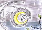 Magical Dragon Moon