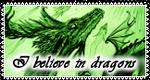 I believe in dragons - big Stamp - by Gewalgon