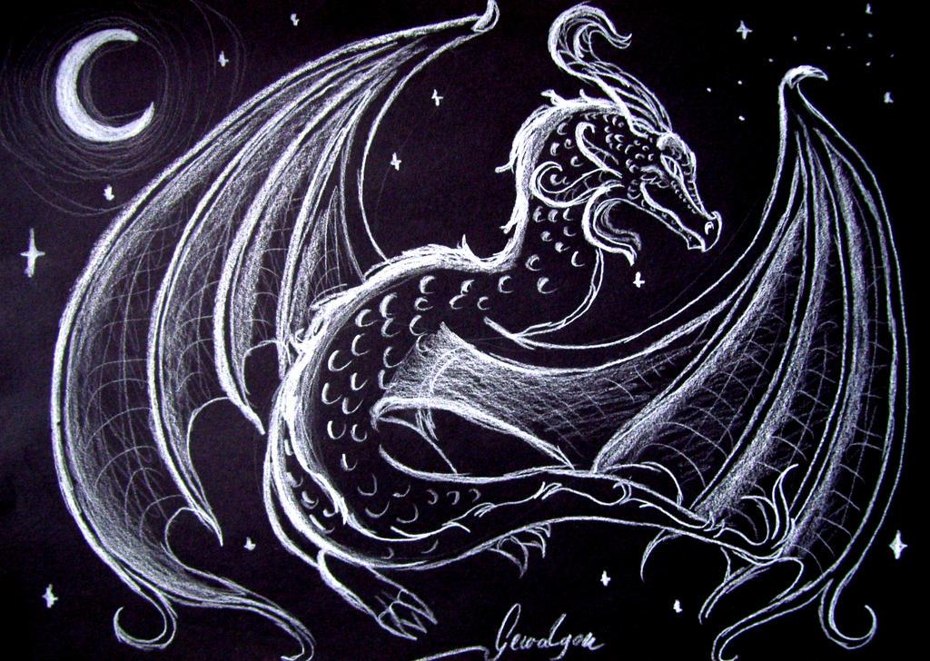 Moondragon - Dance of Joy by Gewalgon