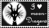 I love moondragons - Stamp - by Gewalgon
