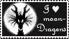 I love moondragons - Stamp - by Gewalgon