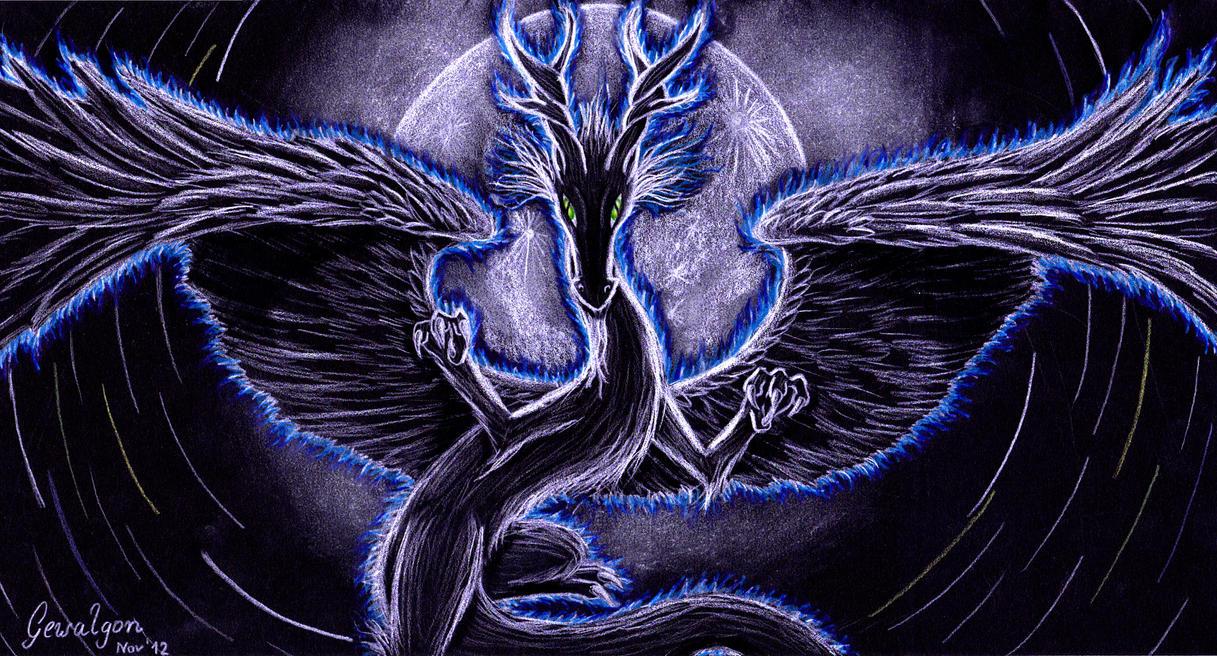 dragon aura by gewalgon on deviantart