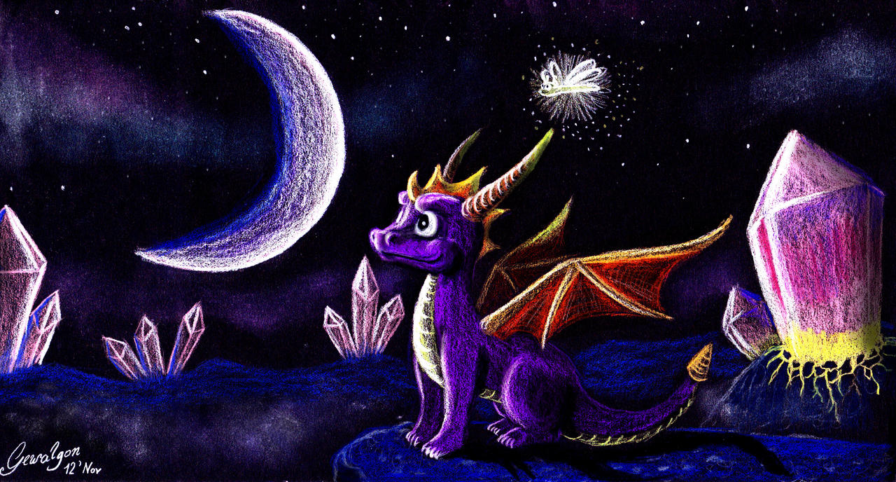 Spyro: Year of the Dragon - Crystal Islands by Gewalgon