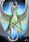 Magical Moondragon Pentagram